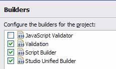 禁用JavaScript Validator